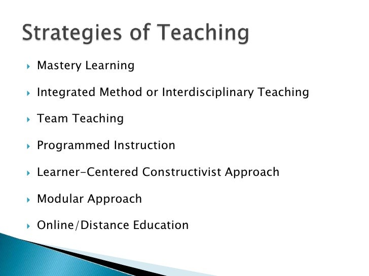 Contemporary teaching strategies powerpoint by lian