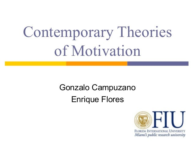 contemporary theories of motivation Expectancy theory is one of the most widely accepted explanations of motivation victor vroom's (1964) expectancy theory has its critics but most of the research is supportive motivation is based on people's beliefs, goals and linkage between effort and performance, performance and reward, and reward and individual goal satisfaction.