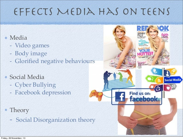Effect of media on teenagers essay