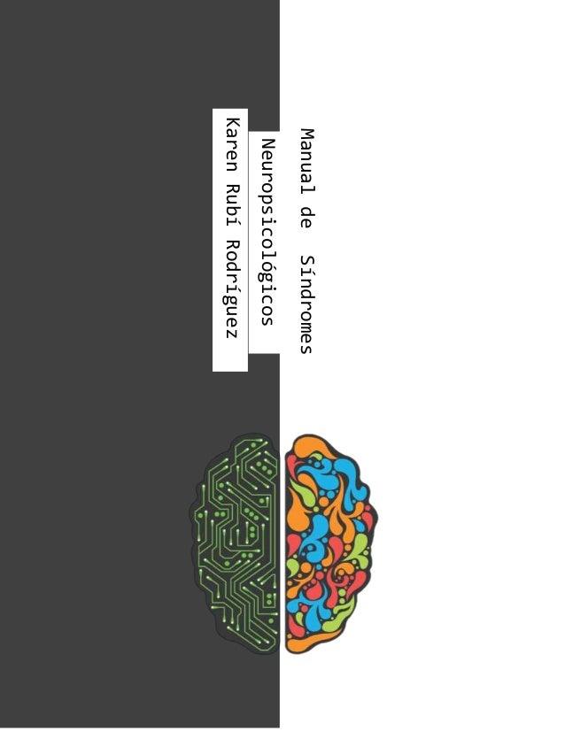 ManualdeSíndromes Neuropsicológicos KarenRubíRodríguez
