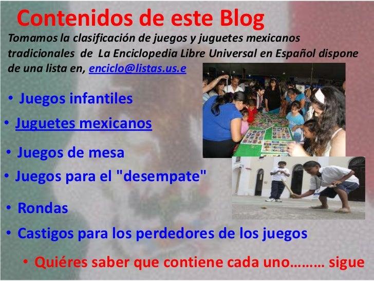 Contenido Blog Juegos Y Juguetes Mexicanos