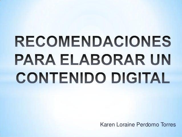 Karen Loraine Perdomo Torres