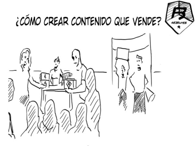 CONTENIDO QUE VENDEClave 1: CREA UNA AUDIENCIA    La mayoría de las empresas solo muestran  TRABAJOS/PROYECTOS = CONTENIDO...