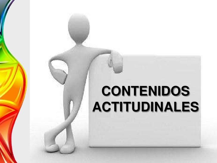 CONTENIDOSACTITUDINALES