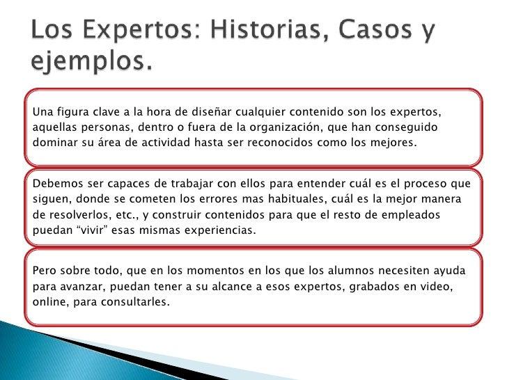 Los Expertos: Historias, Casos y ejemplos.<br />