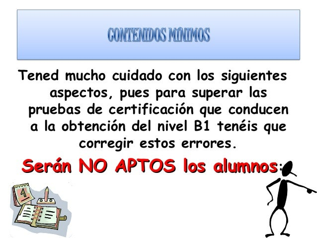 Tened mucho cuidado con los siguientes aspectos, pues para superar las pruebas de certificación que conducen a la obtenció...