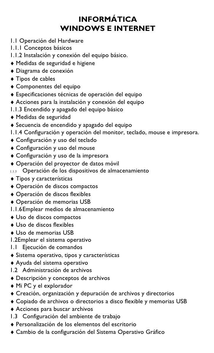 Contenidos tematicos sep 2010