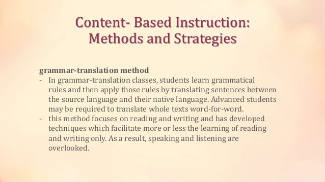 strategy based instruction 1 the effectiveness of using an explicit language learning strategy-based instruction in developing secondary school students' efl listening comprehension skills.