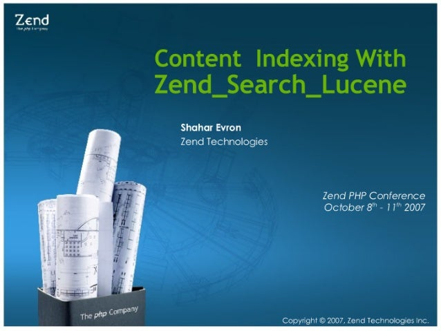 Content Indexing with Zend_Search_Lucene