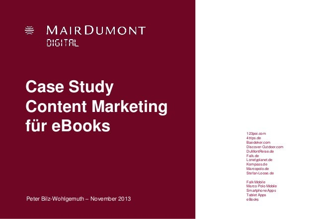 Outstanding Content Marketing Case Studies For More Success SlideShare