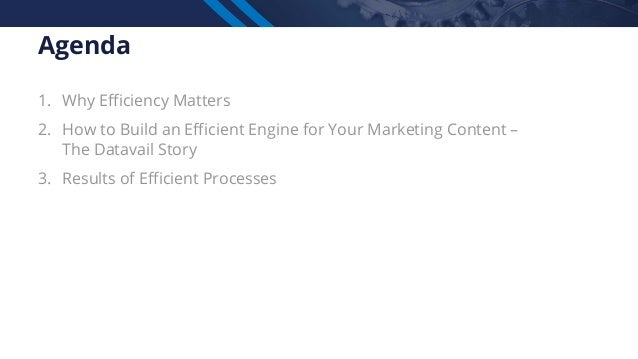 How Datavail Built an Efficient Content Engine with Kapost Slide 3