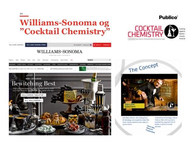 """34 Williams-Sonoma og """"Cocktail Chemistry"""""""