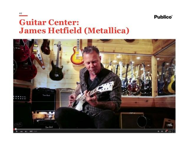 40 Guitar Center: James Hetfield (Metallica)