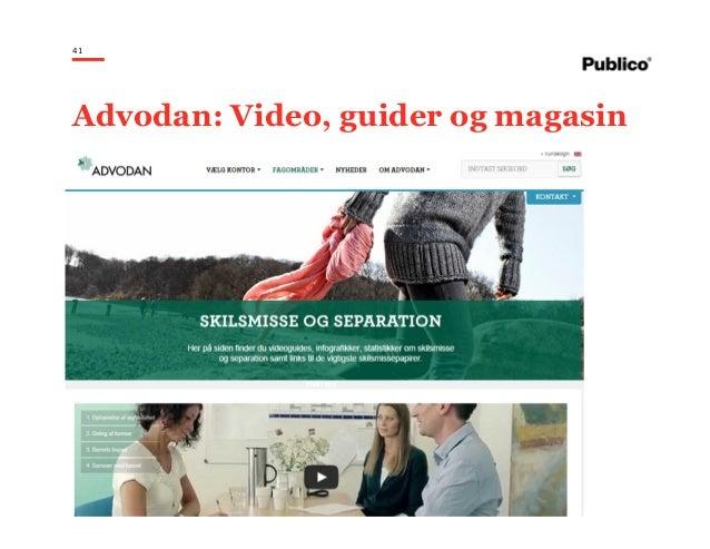 41 Advodan: Video, guider og magasin
