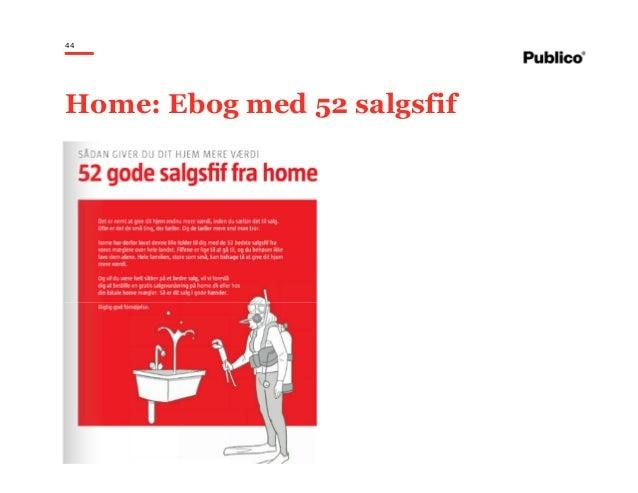 44 Home: Ebog med 52 salgsfif