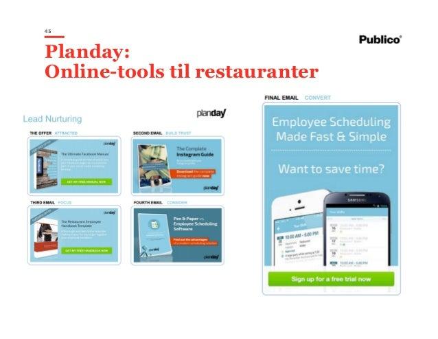 45 Planday: Online-tools til restauranter