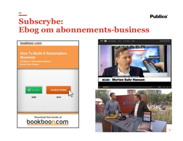 50 Subscrybe: Ebog om abonnements-business