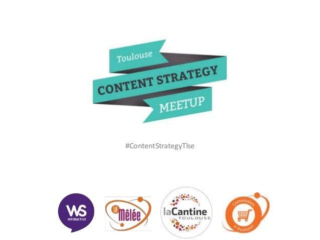 #ContentStrategyTlse