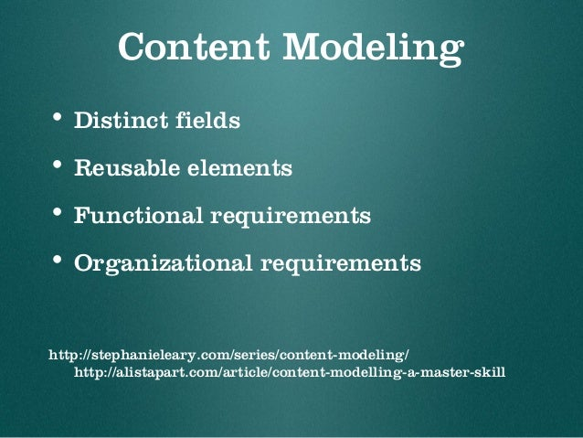 Distinct Fields • Separate structured data • Look for templated posts • press releases • research project abstracts • pers...