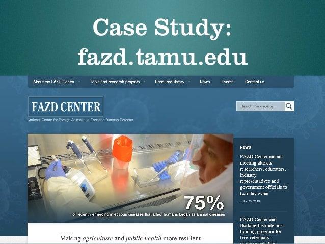 Case Study: fazd.tamu.edu