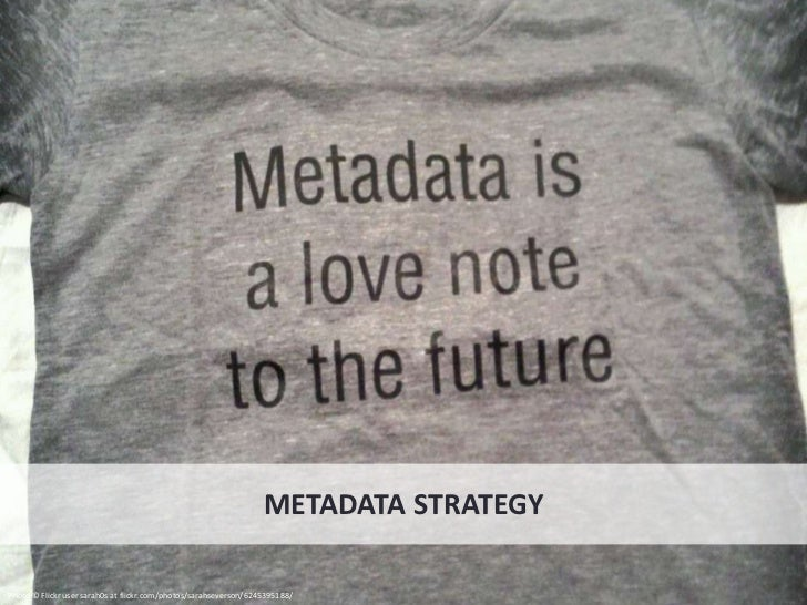 Metadata is more than                                                                             <meta> content, which is...
