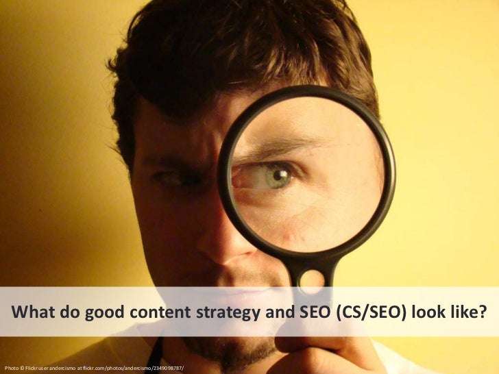CS/SEO makes tacit knowledge explicit, findable, and useful Example: http://www.rei.com/expertadvice/articles/backpack.html