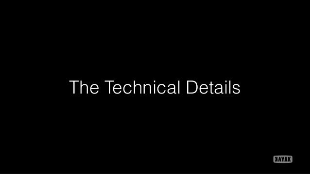The Technical Details