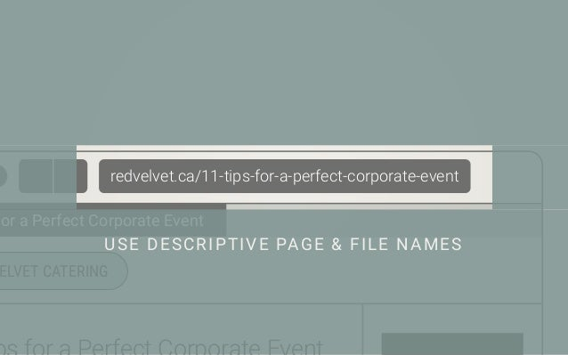 Be careful with key phrases. Make sure they're definitely relevant to the page or the file. Separate words with dashes (-), ...
