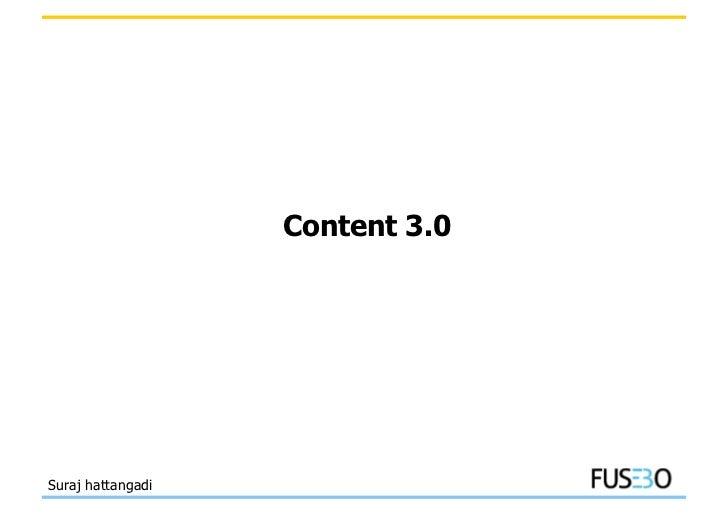Content 3.0Suraj hattangadi