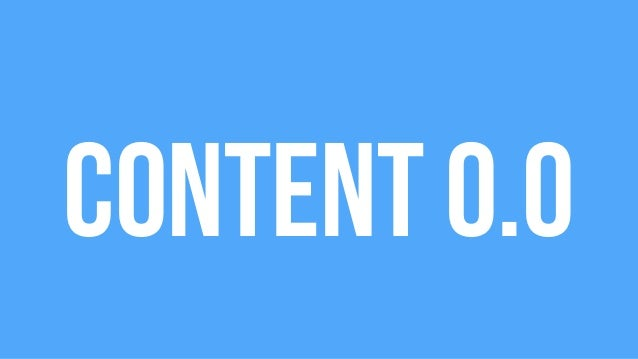 Content 3.0: Making Great Decisions Slide 2