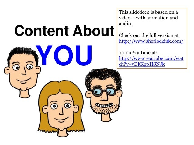 This slidedeck is based on a                video – with animation and                audio.Content About   Check out the ...