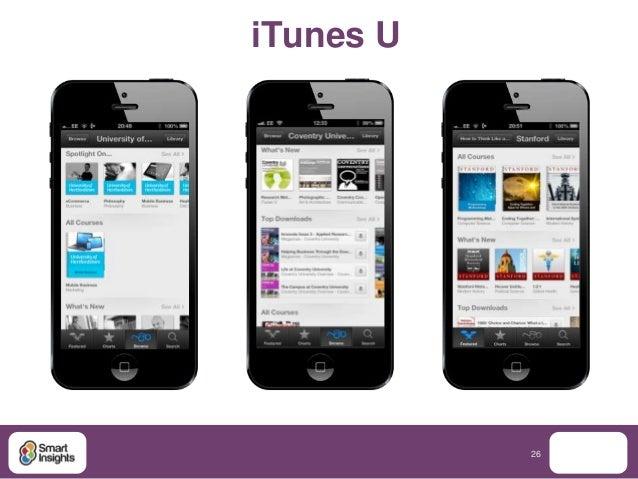 iTunes U           26