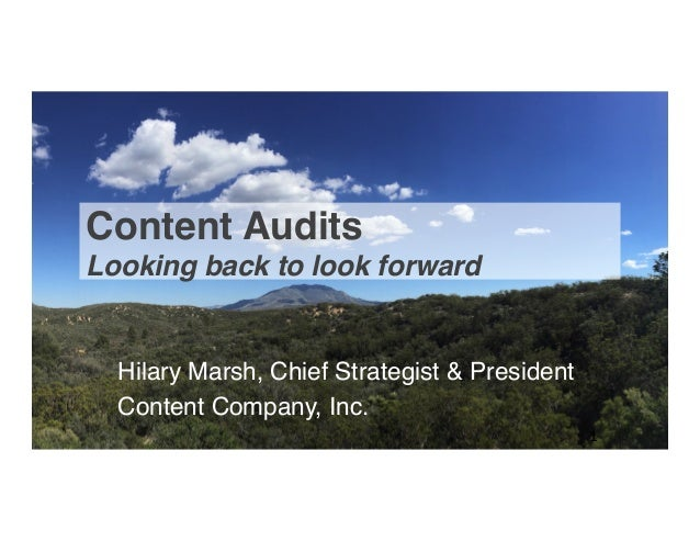 Content Audits
