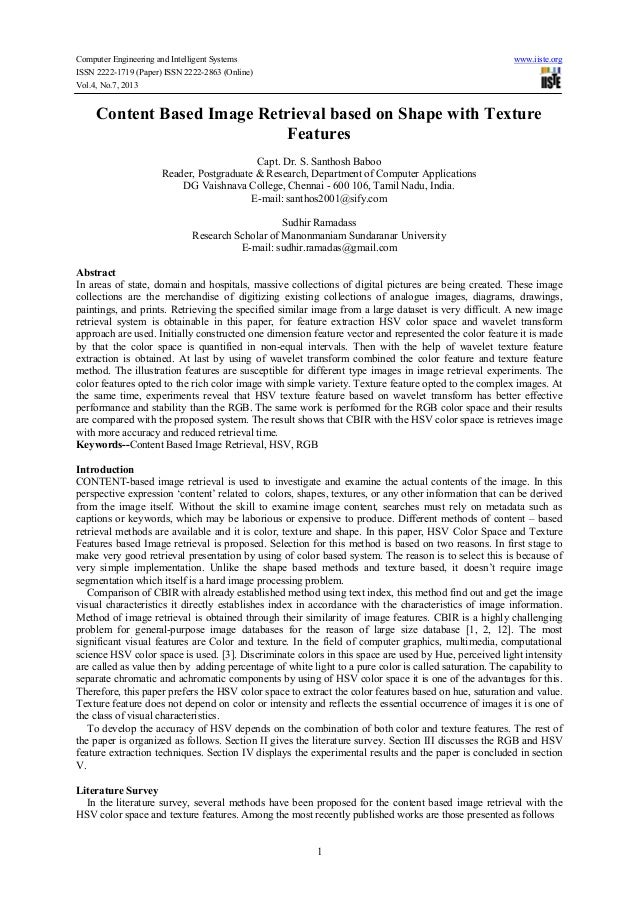 Computer Engineering and Intelligent Systems www.iiste.org ISSN 2222-1719 (Paper) ISSN 2222-2863 (Online) Vol.4, No.7, 201...
