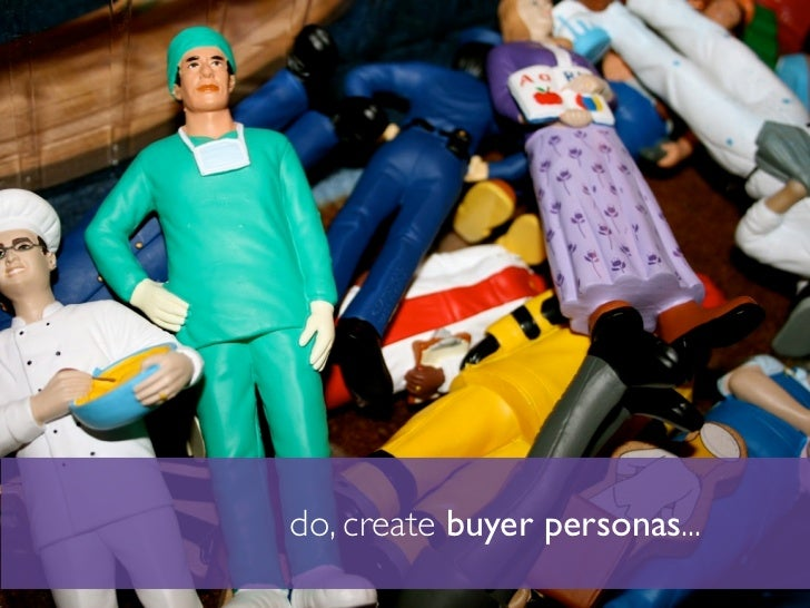 do, create buyer personas...