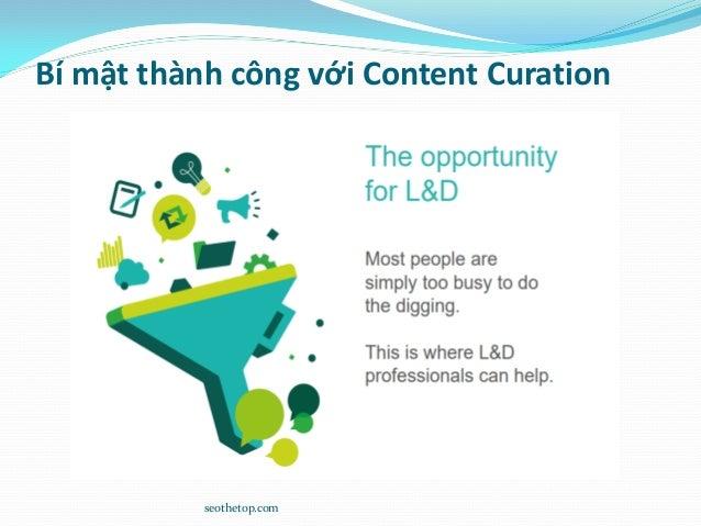 Bí mật thành công với Content Curation seothetop.com