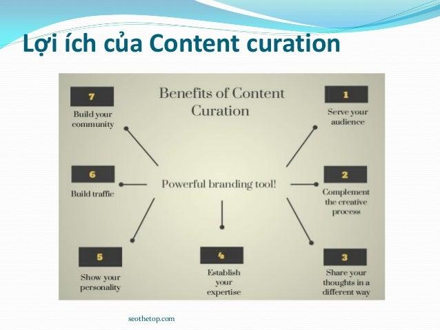 Lợi ích của Content curation seothetop.com