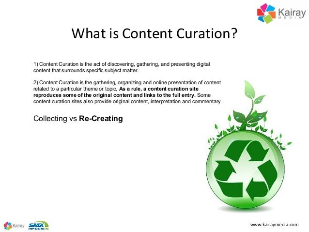 Making Content Curation Work for You at SMX Advanced 2013 Slide 2