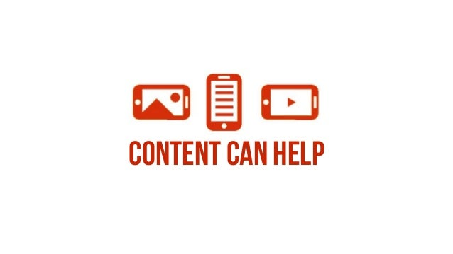 Content can help