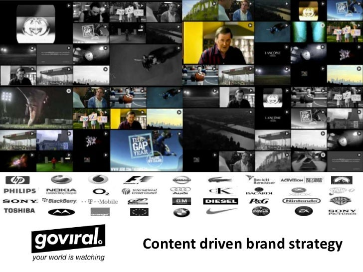 Content driven brand strategy<br />
