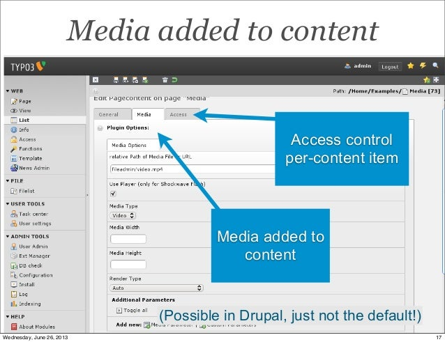 Content Editing & Admin in Drupal 7