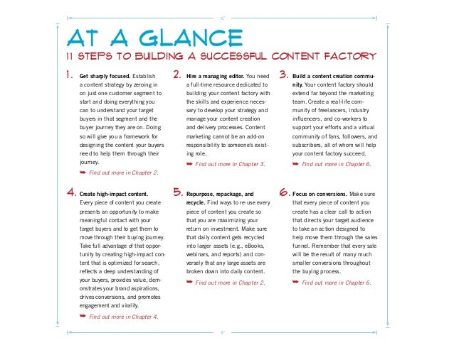 It Takes a Content Factory! Slide 2
