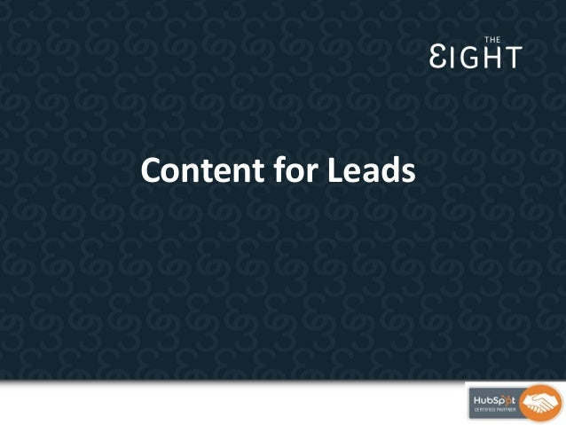 Content for Leads