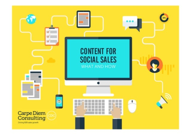 Developing a Content Strategy • Why and How1 CONTENT FOR SOCIAL SALES WHAT AND HOW