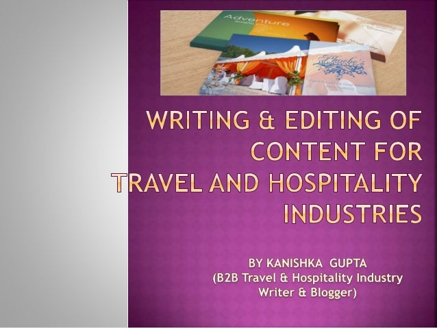 essay of tourism industry