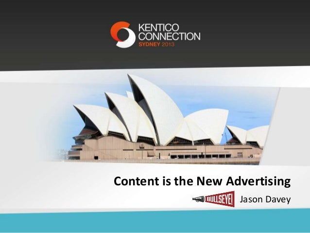 Content is the New Advertising Jason Davey