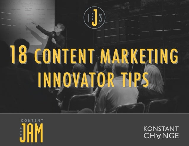18 CONTENT MARKETING INNOVATOR TIPS AKONSTANT CH   GEN