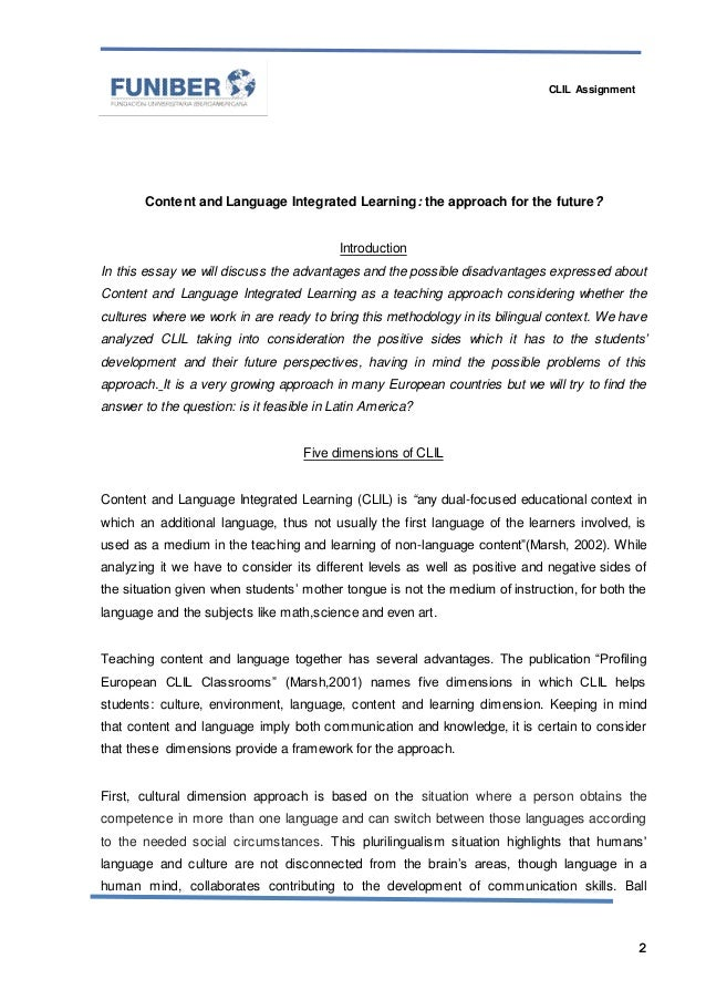 content and language integrated learning Integrated content and language instruction has entered its  for effective support of integrated content and language learning for two reasons first, as they interact and create meaning, students map new content knowledge onto prior content knowledge they do this through spoken and writ.