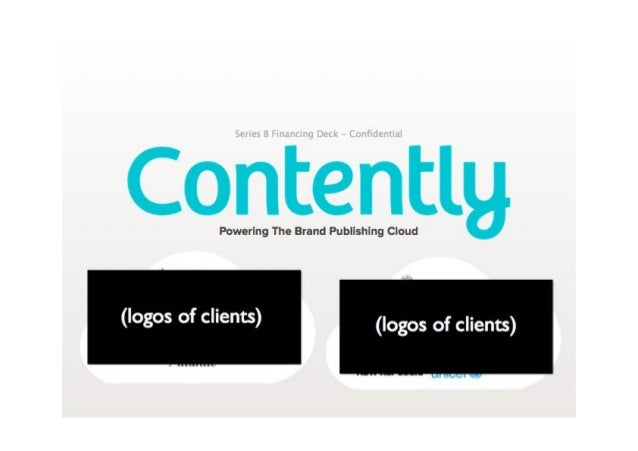 Contently Pitch Deck