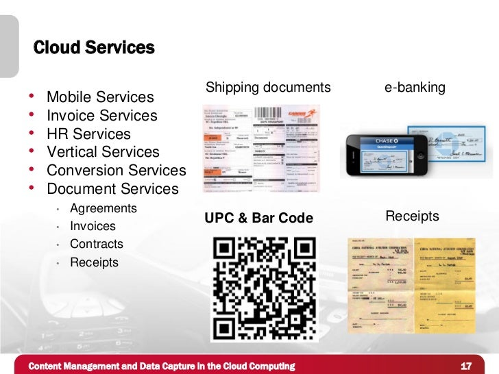 Cloud Services                                      Shipping documents     e-banking•   Mobile Services•   Invoice Service...